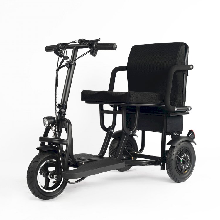 Elektromobilita pro aktivní seniory nebo postižené osoby